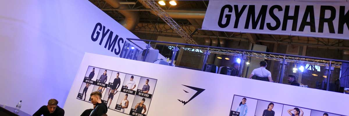 Exhibition Stands And Events : Gymshark bodypower exhibition stand form events