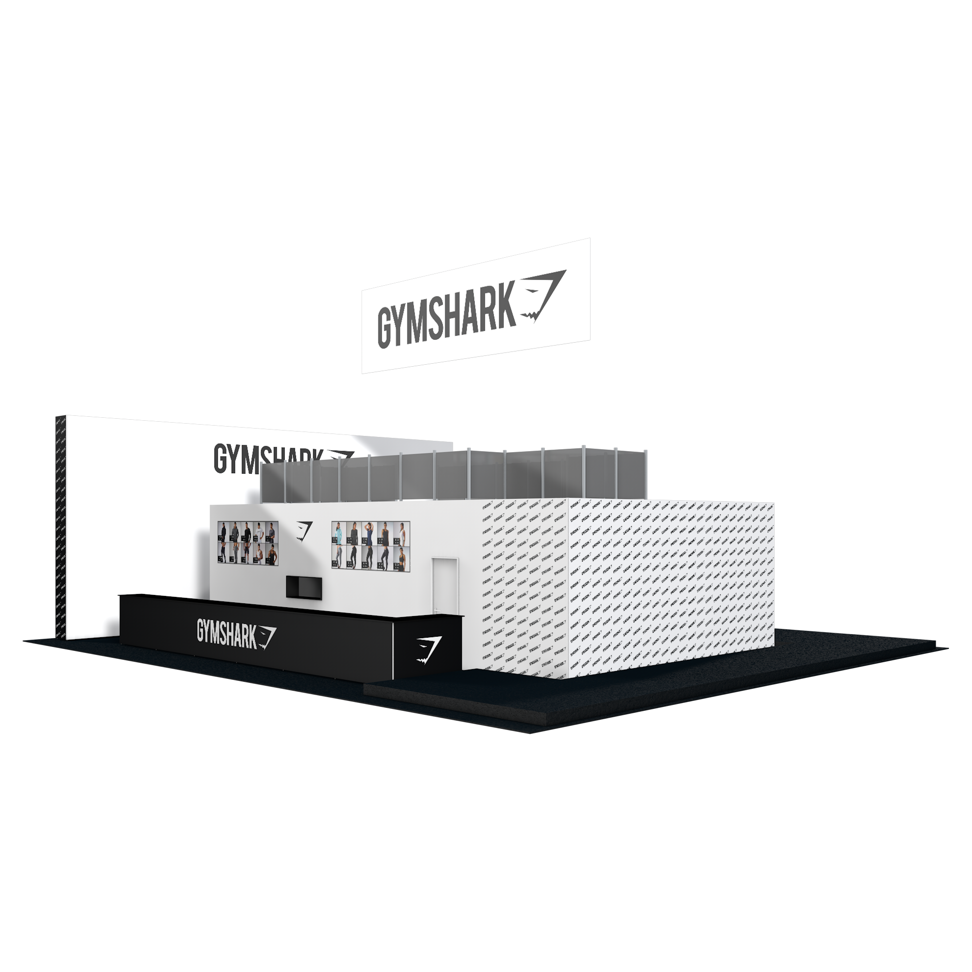 Bodypower Expo Stands : Gymshark bodypower exhibition stand form events